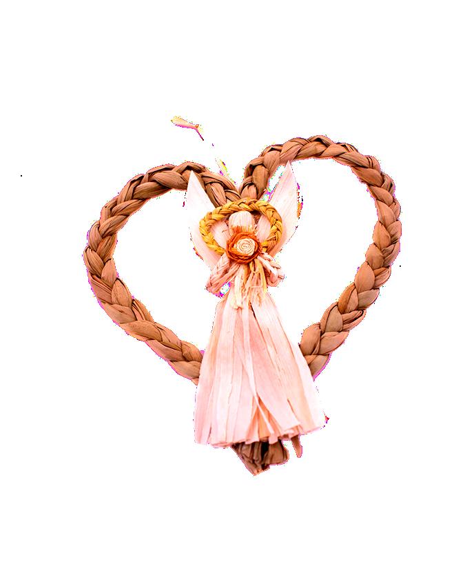 Inimă cu înger