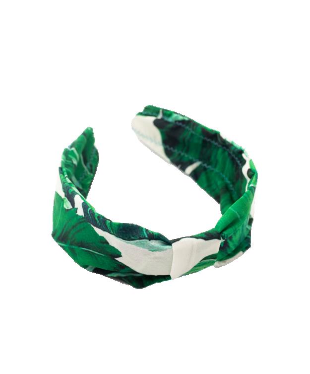 Bentiță cu frunzulițe verzi