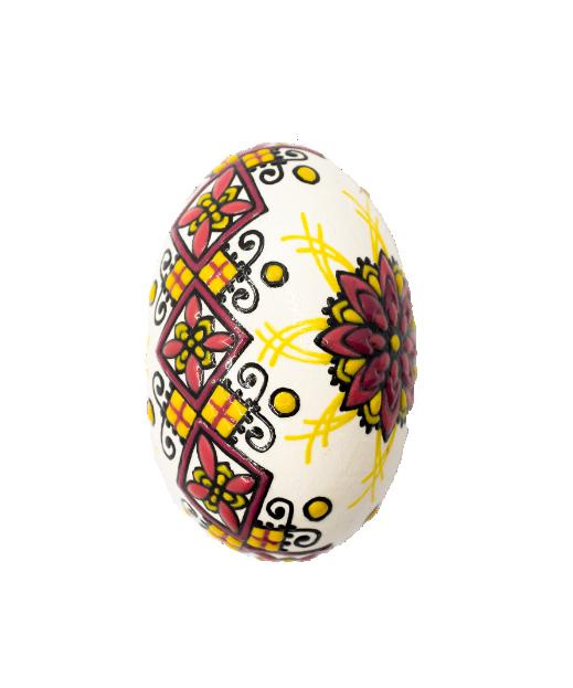 Ou de gâscă din lemn